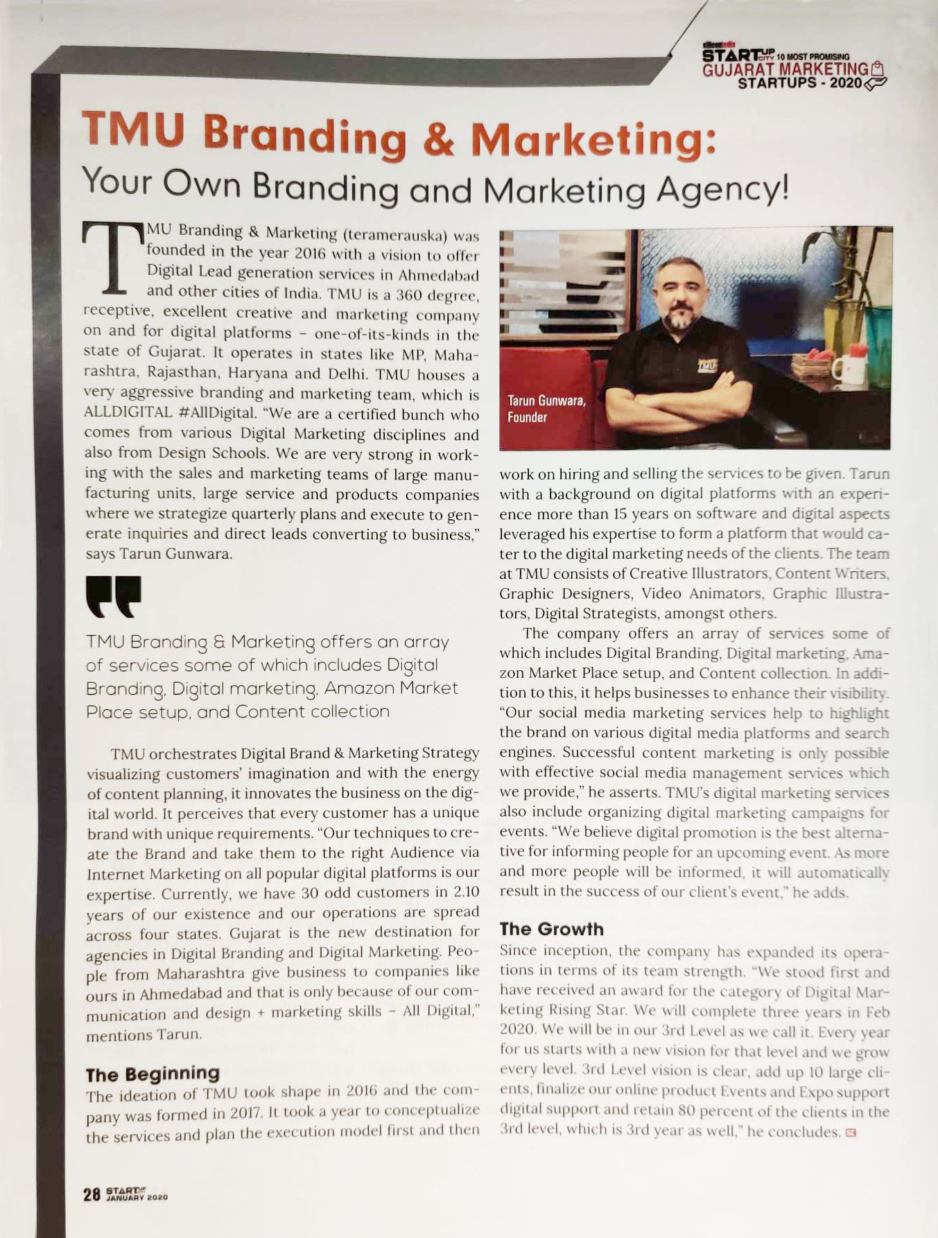 Silicon India TMU Branding & Marketing: Your Own Branding and Marketing Agency!