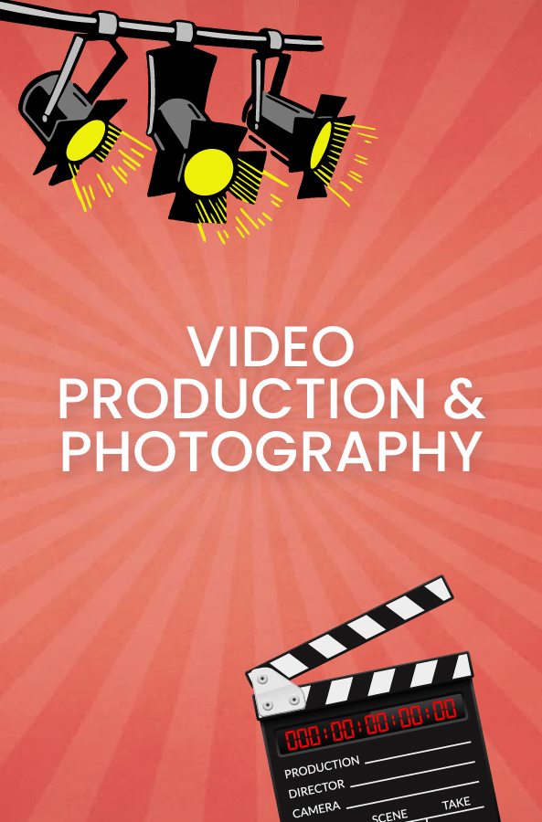 video production and photography